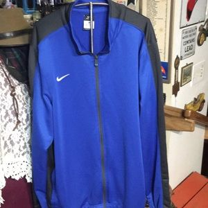 Nike dri fit track jacket